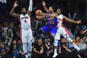Pistons vs Knicks